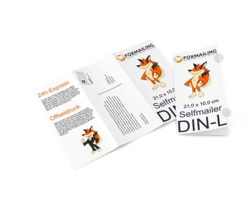 Selfmailer DIN-Lang